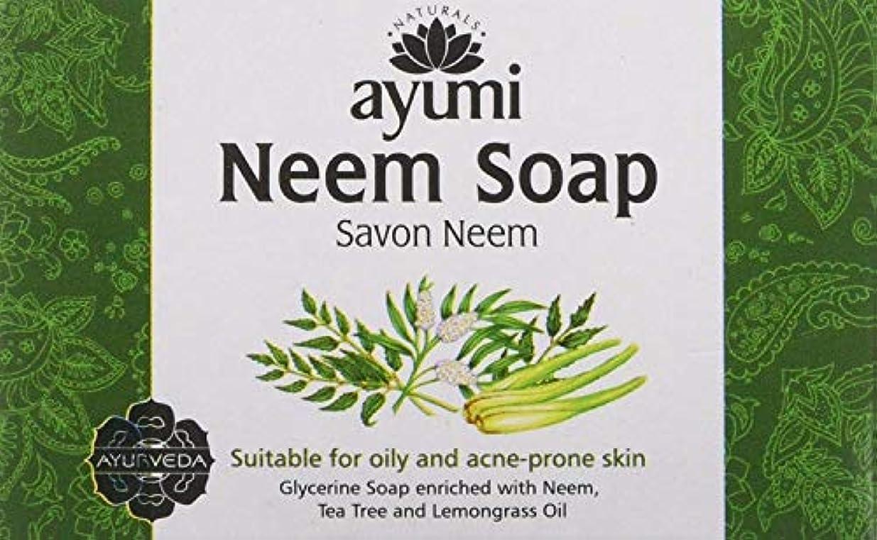 必要としているエイリアンピクニックAyuuri Ayurvedic Herbal Natural Neem Soap 100g by Ayuuri