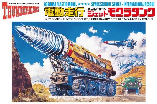青島文化教材社 サンダーバード No.3 電動ジェットモグラ 1/72スケール プラモデル
