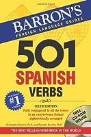 Barron's 501 Spanish Verbs (Barron's Foreign Language Guides)