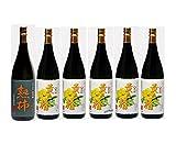 黄色い椿と熟柿のセット 芋焼酎 25度 1.8L 八千代伝酒造