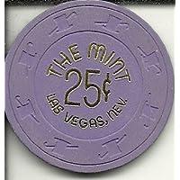 25セントのミントラスベガスネバダ州Rare Obsoleteカジノチップ