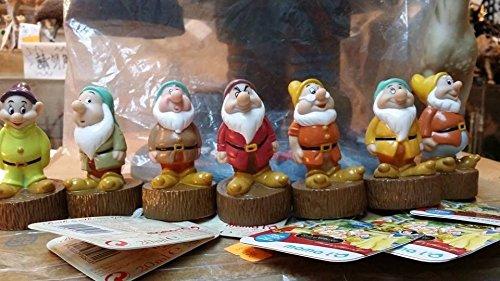 디즈니 백설 공주와 일곱 난쟁이 소인 피규어 snow white & the seven dwarfs PVC Toy Figure [병행수입품]-t6