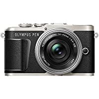 OLYMPUS ミラーレス一眼カメラ PEN E-PL9 レンズキット ブラック