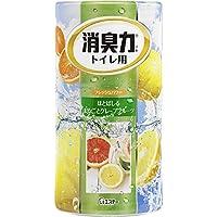 トイレの消臭力 消臭芳香剤 トイレ用 トイレ グレープフルーツの香り 400ml