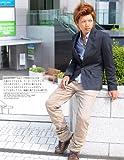テーラードジャケット メンズ 長袖 ジャケット テーラード 1ボタン きれいめ スーツ スペード画像③