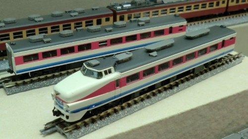 TOMIX Nゲージ 92446 489系特急電車 (白山色) 基本セット