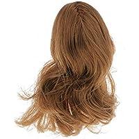 SONONIA 1/6 2セット 女性の頭部 長い髪 ブロンド 彫り フィギュア 小道具 アクセサリー プレゼント