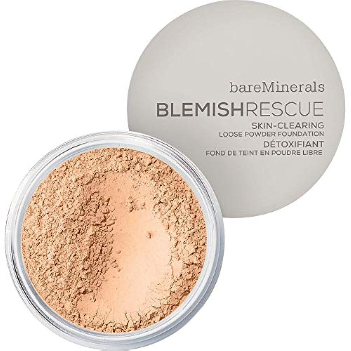 ご予約バルブ縞模様の[bareMinerals ] ベアミネラル傷レスキュースキンクリア緩いパウダーファンデーションの6グラムの2N - 中立アイボリー - bareMinerals Blemish Rescue Skin-Clearing...