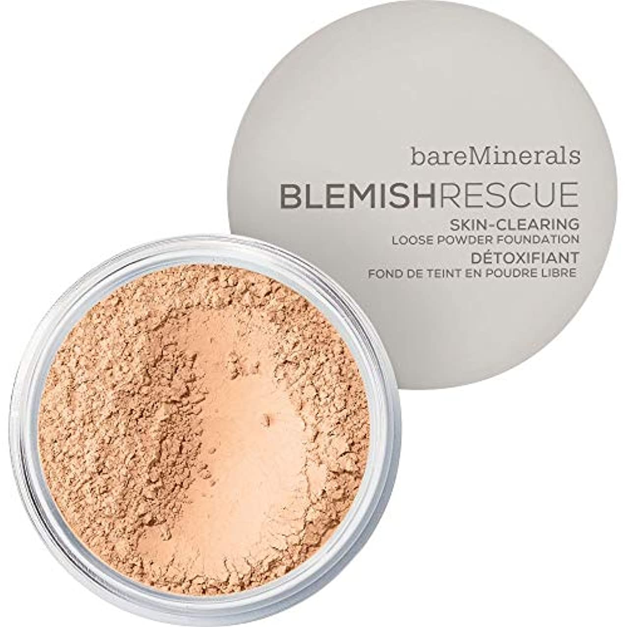 反射そよ風宣言する[bareMinerals ] ベアミネラル傷レスキュースキンクリア緩いパウダーファンデーションの6グラムの2N - 中立アイボリー - bareMinerals Blemish Rescue Skin-Clearing...