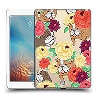 Head Case Designs ドッグ フローラル&アニマルパターン iPad Pro 9.7 (2016) 専用ハードバックケース