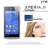 Xperia J1 Compact 2枚セット!指紋防止高光沢保護フィルム Sony AEON mobile エクスペリア j1 コンパクト simフリー スマホ ケース スマホケース スマートフォン カバー