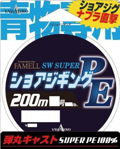 ヤマトヨテグス(YAMATOYO) ライン ファメル PEショアジギング 200m 2号 25LB