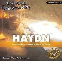 Haydn [vol. 2]: Symphony No. 45 Farewell & No. 73 La Chasse【CD】 [並行輸入品]