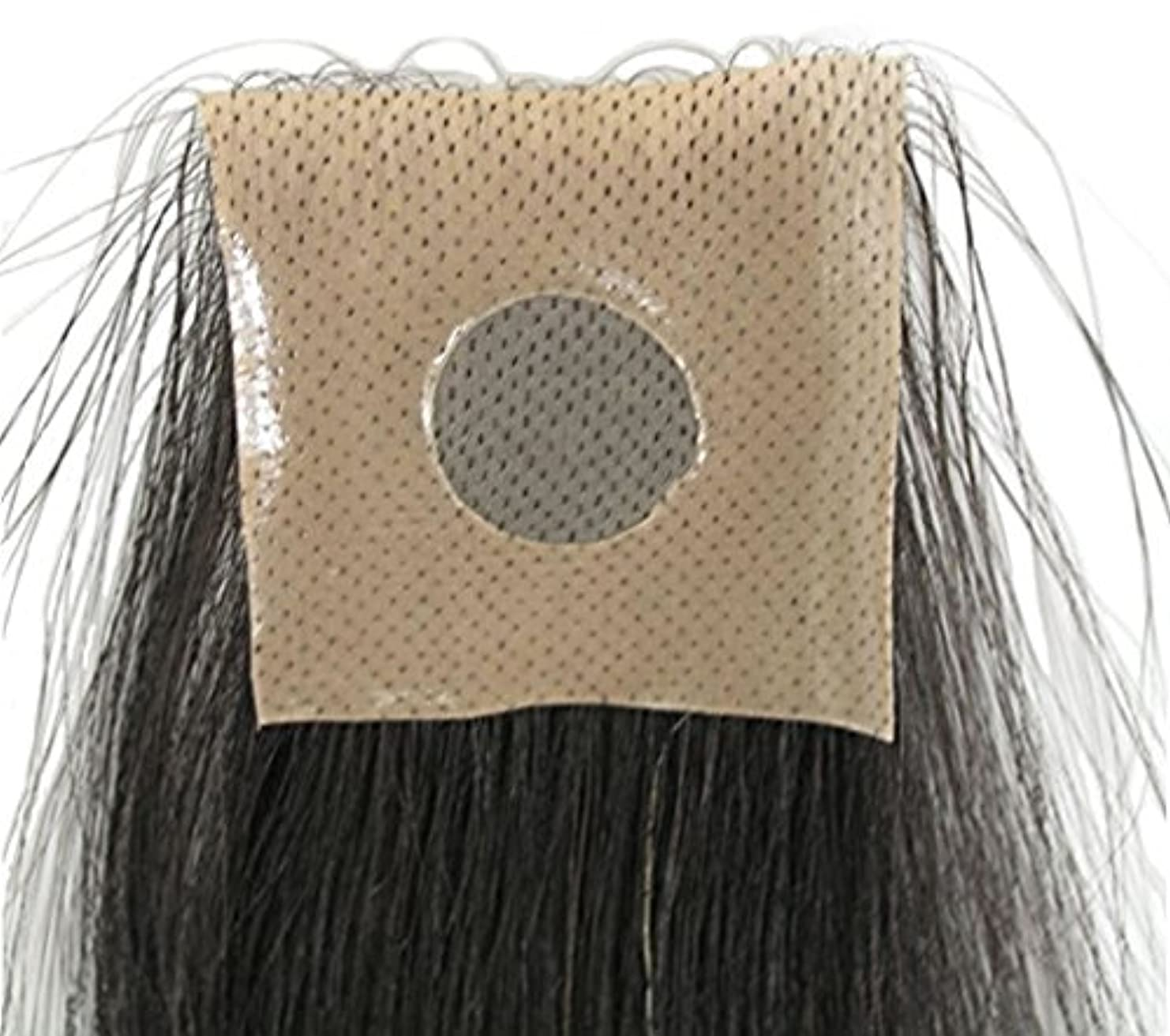 文芸スピン同化する円形脱毛シルクシート