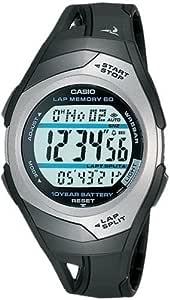 [カシオ] 腕時計 フィズ LAP MEMORY 60 STR300CJ1JF ブラック
