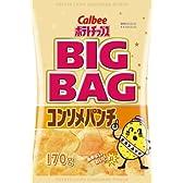 カルビー BIGサイズ ポテトチップス コンソメパンチ 170g×12個
