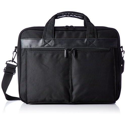 [アジア・ラゲージ] ビジネスバッグ B4ファイル収納可 2WAY PCポケット キャリーON ADY-3908 BK ブラック