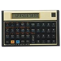 HP 12c 金融電卓 金色盤  [並行輸入品]