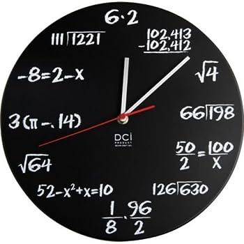 Pop quiz clock by Deco Craft Inc