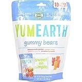 ヤミーアース(Yummy Earth) オーガニック グミベア 10スナックパック(198g) [並行輸入品]
