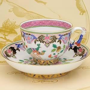 HEREND(ヘレンド) シノワズリ ティーカップ(03364) 北京の孔雀(PP) (並行輸入品)
