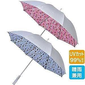 EZ COOLING UVシルバー アンブレラ ゴルフ傘 55cm 晴雨兼用モデル (ピンク)
