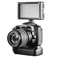 Walimex Pro LEDビデオライトバイカラー144 LED