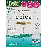 メニコン エピカコールド アクアモア ソフト用 310ml 2本 (コンタクトケア用品)