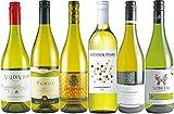 世界のシャルドネ 辛口 白ワイン 飲み比べ 6本セット (シャルドネ種100%) 750mlx6本