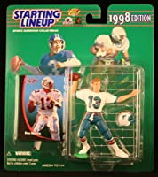 DAN MARINO / MIAMI DOLPHINS 1998 NFL Starting Lineup Action Figure & Exclusive NFL Collector Trading Card