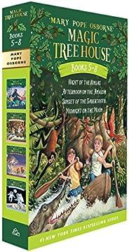 Magic Tree House Books 5-8 Boxed Set (Magic Tree House (R))