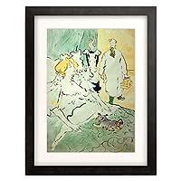 アンリ・ド・トゥールーズ=ロートレック Henri Marie Raymond de Toulouse-Lautrec-Monfa 「L'Artisan moderne」 額装アート作品