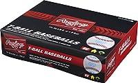 RawlingsティーボールチームパックYouthスポンジゴムセンター合成カバーBaseballs (ボックスof 12)