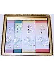 淡路梅薫堂 の 淡路島 神仏お好み甘茶の贈答用お線香ギフトセット #k106