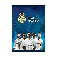 レアル マドリード A5 ノートブック 32ページ 方眼 ver_4/Real Madrid A5 Notebook 32p Cq ver_4