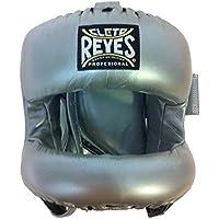 Cleto Reyes再設計Headgear withナイロン面バー(シルバー)