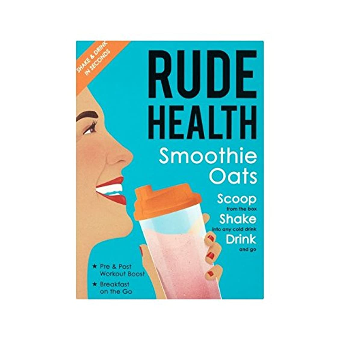 擬人リングレット症候群スムージーオート麦250グラム (Rude Health) (x 4) - Rude Health Smoothie Oats 250g (Pack of 4) [並行輸入品]