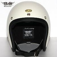 公道使用不可 500-TX スモールジェットヘルメット アイボリー XL/XXL TT&CO. ジェットヘルメット
