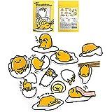 Sanrio Gudetama Lazy Egg Big Jumbo Deco Stickers (12pcs 1 Pack) (VER.4)