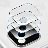 T Tersely [3 Pack] Camera Lens Screen Protector for Google Pixel 4A, Ultra-Thin 9H Hardness 5D Crystal Scratch Resistant Temp