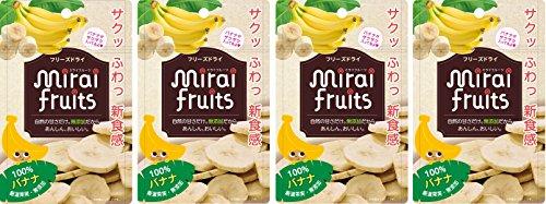 ミライフルーツ バナナ×4個