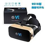 Ncoobi VRゴーグル 3Dメガネ 4.0-6.0インチのiphoneとandroidスマホ対応 … (VR)