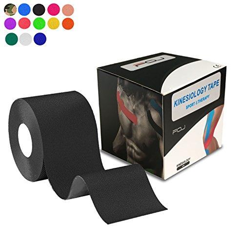 テーピングテープ キネシオ テープ 筋肉・関節をサポート 伸縮性強い 汗に強い パフォーマンスを高める 5cm...