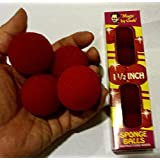 [マジックバイゴシュ]Magic By Gosh Red Magic Sponge Ball Set by Gosh, 1 1/2 Size [並行輸入品]