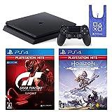 PlayStation 4 + グランツーリスモSPORT + Horizon Zero Dawn Complete Edition + オリジナルデザインエコバッグ セット (ジェット・ブラック) (CUH-2200AB01)