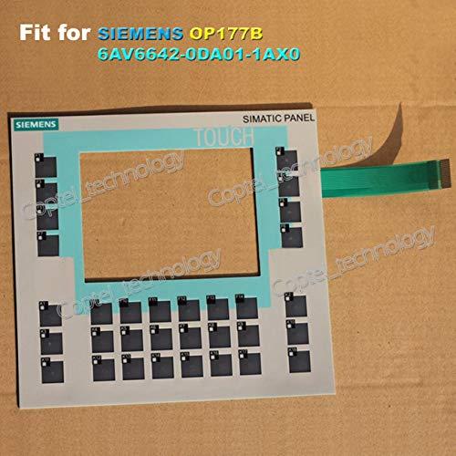 フィジェットフィジェットフィジェットメンブレンキーパッド Siemens OP177B 6AV6642-0DA01-1AX0, 6AV6 642-0DA01-1AX0用