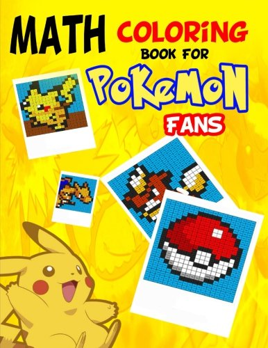 Math Coloring Book for Pokemon...