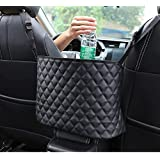 New Car Seat Storage - Handbag Holder Front Seat Storage,for Tissue Purse Holder & Pocket,Upgrade Car Barrier Organizer,Seat