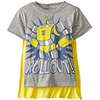 Freeze Transformers Little Boys' Bumblebee Roll Out Cape T-Shirt