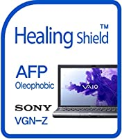 Healingshield スキンシール液晶保護フィルム Oleophobic AFP Clear Film for Sony Laptop Vaio VGN-Z